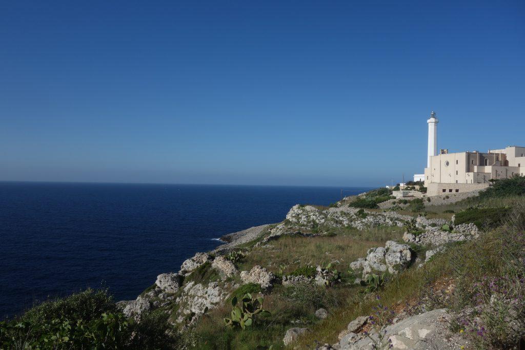 Südlichster Punkt von Apulien: der Leuchtturm von Santa Maria de Leuca