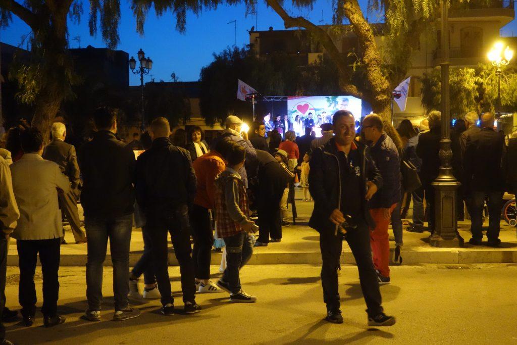 Wahlgebrüll in Zapponeta