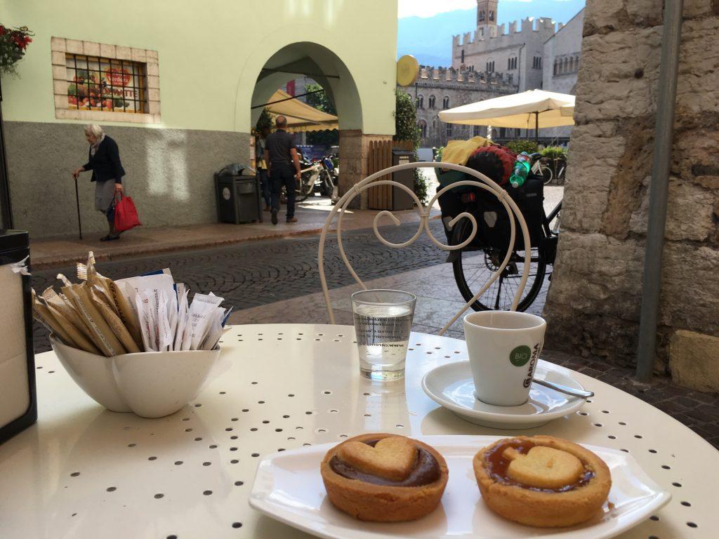 Zweites Frühstück in Trento
