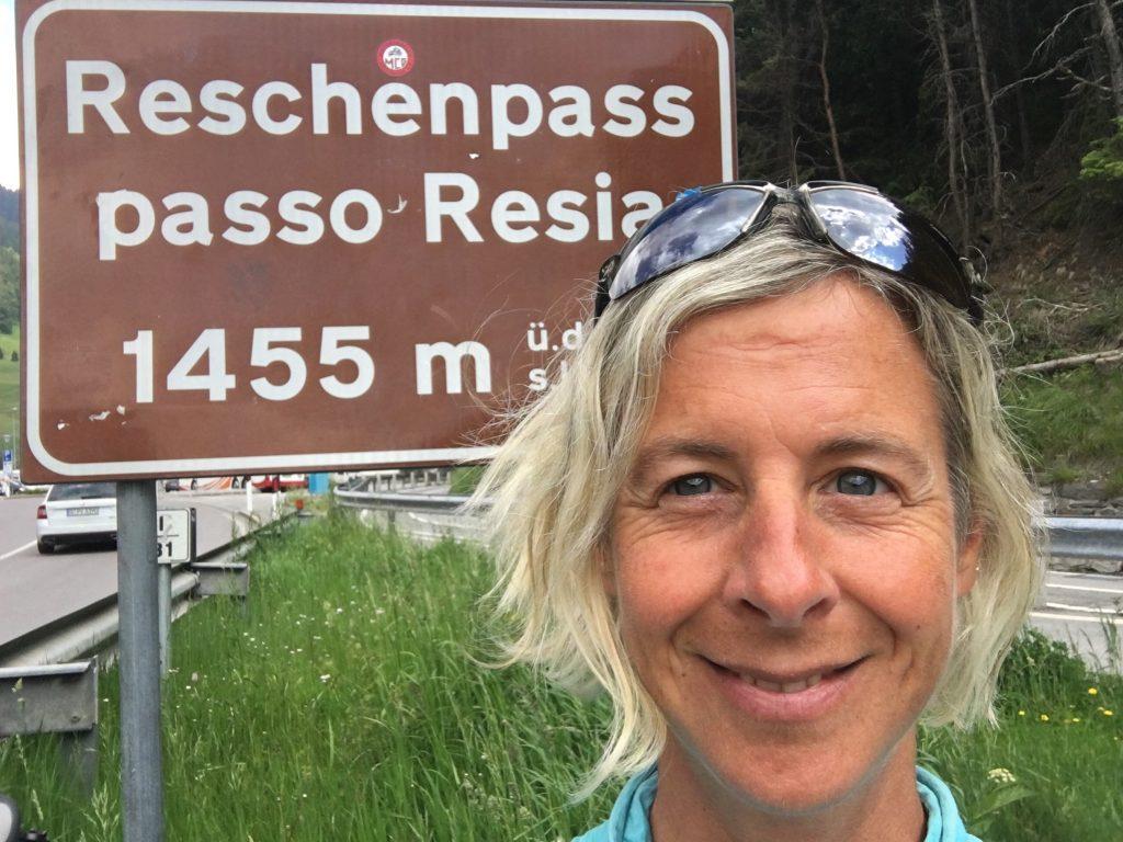 Etsch-Radweg Reschenpass