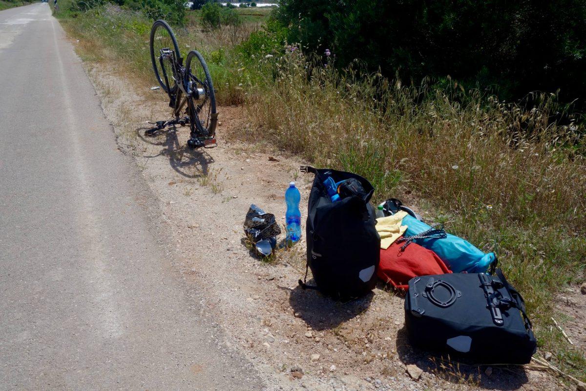 Miss Move Anfängerfehler auf Fahrrad-Reisen