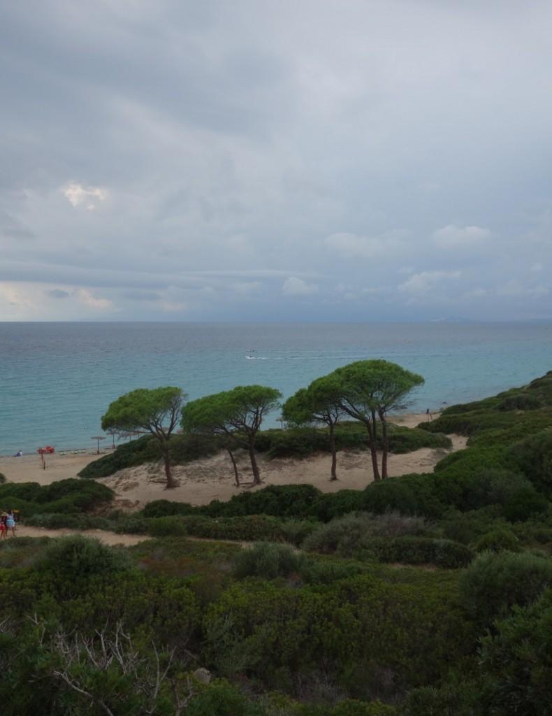 Kala e Moru - von der Gewitterwolke verfolgt