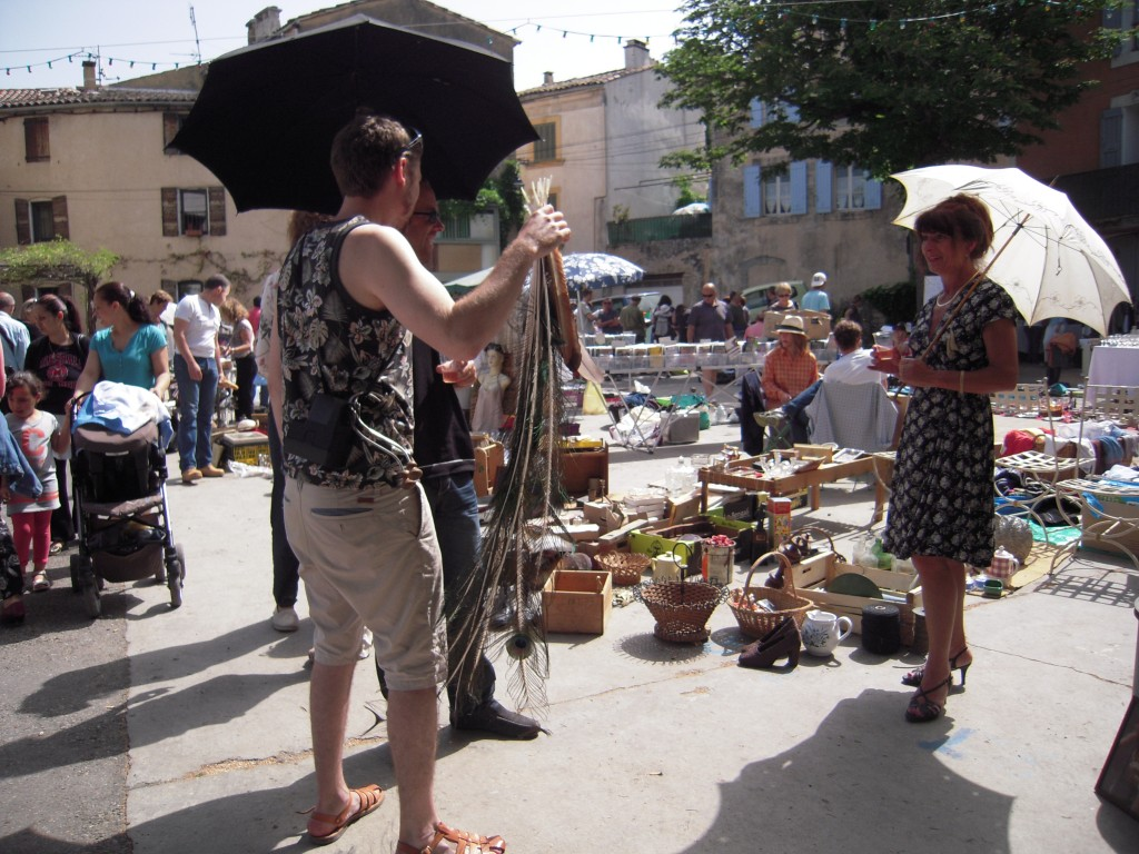 Flohmarkt in Bonnieux