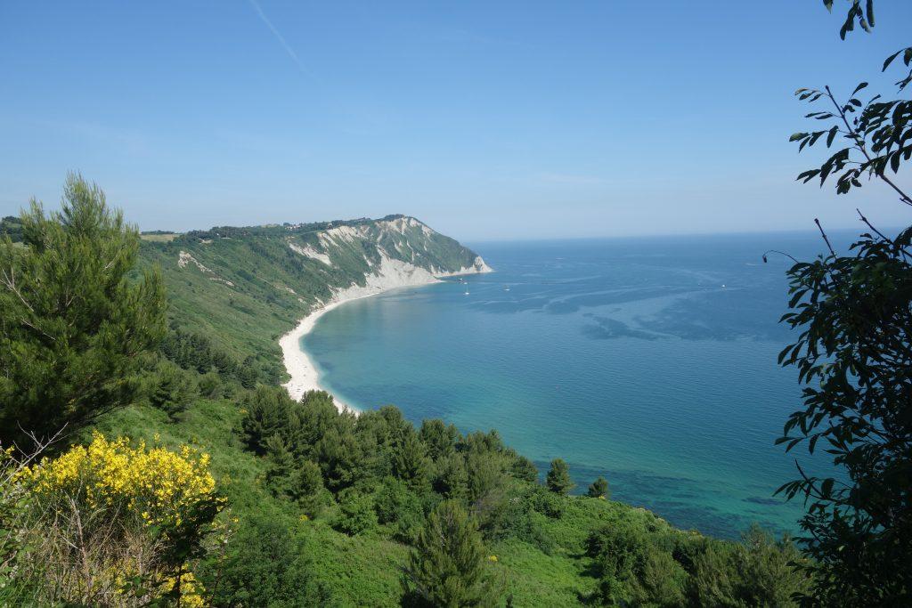 Kurz vor Ancona im Conero Nationalpark