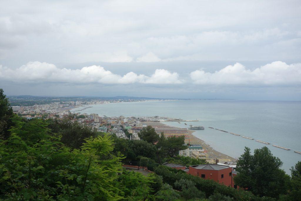 Sicht auf Cattolica
