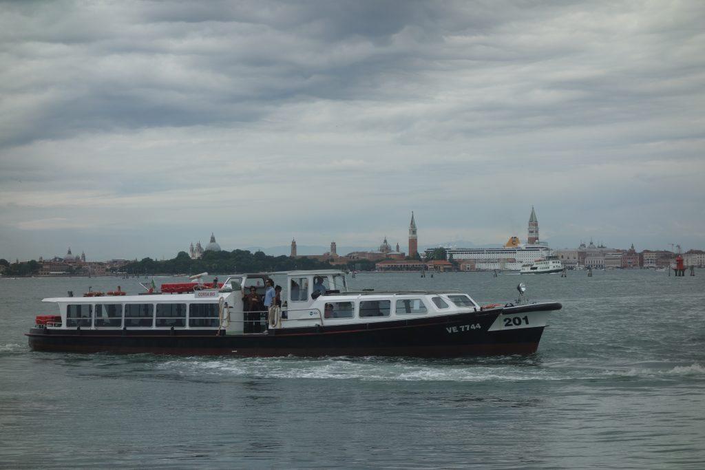 Sicht auf Venedig