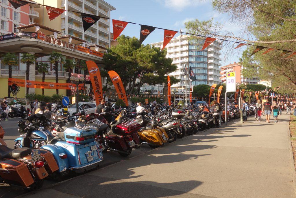 Harley-Davidson-Treffen Portoroz