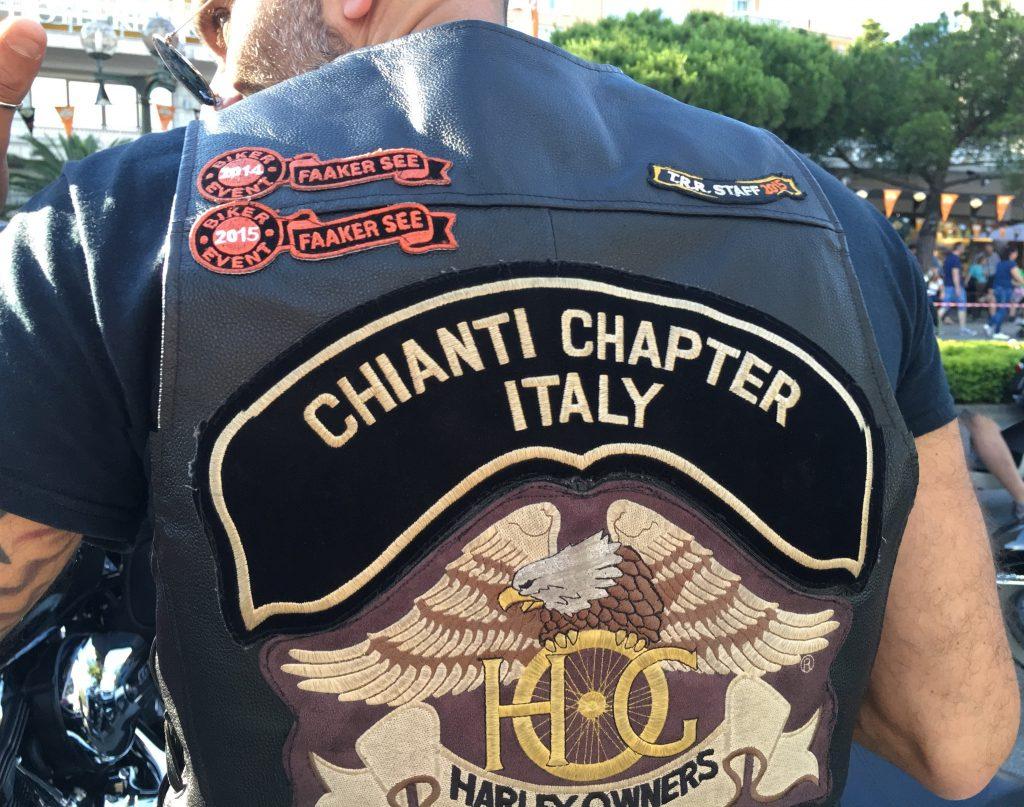 Chianti meets Harley-Davidson