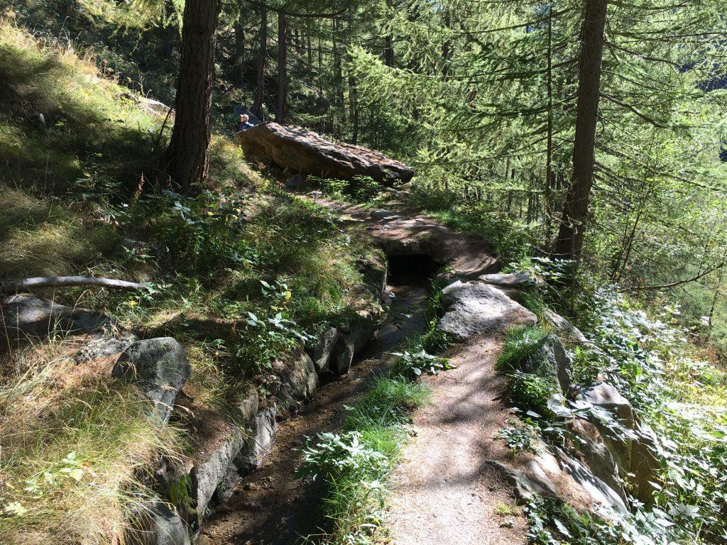 Suonen - die alten Wasserleitungen