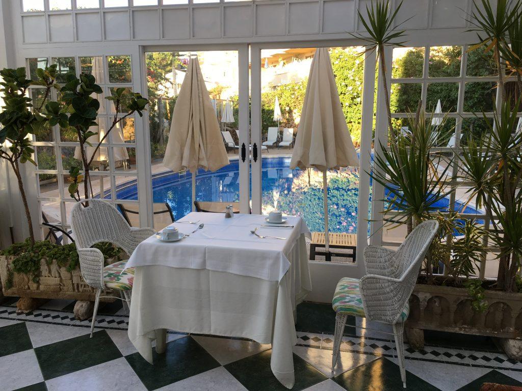 Frühstücksraum Hotel Bonsol, Illetas, Mallorca