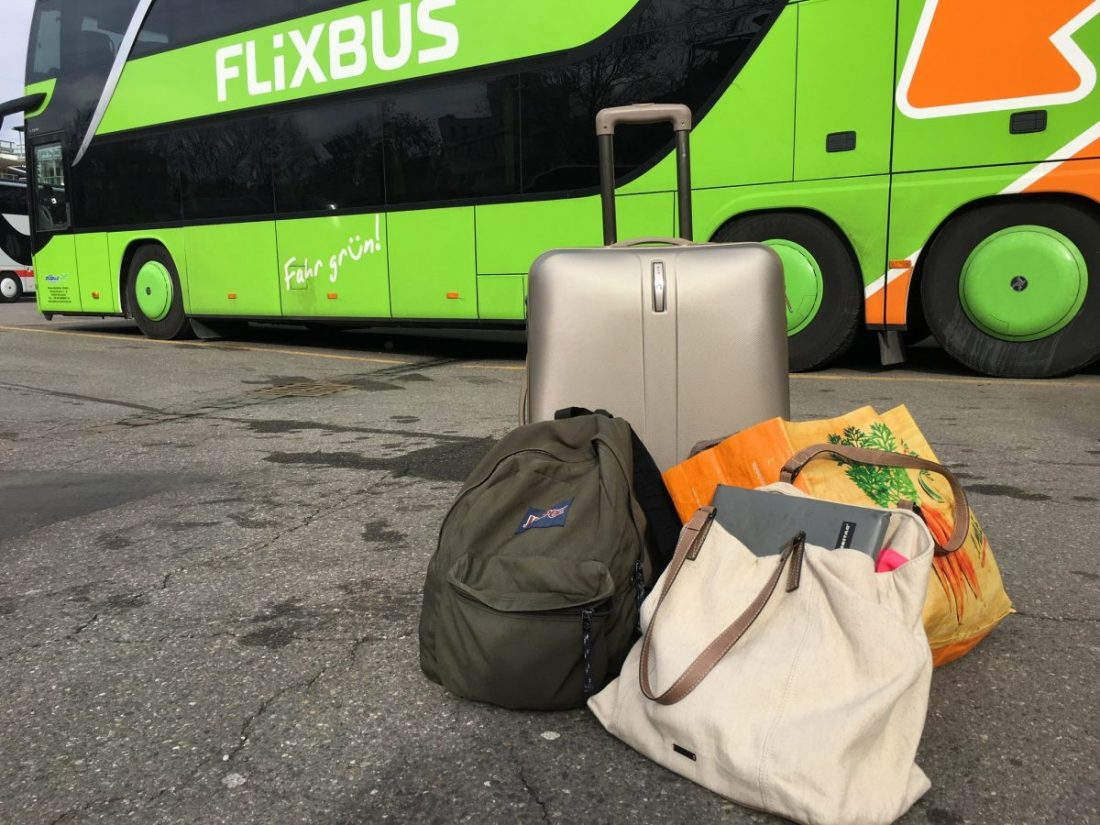 Nachtbus Schweiz - Rom