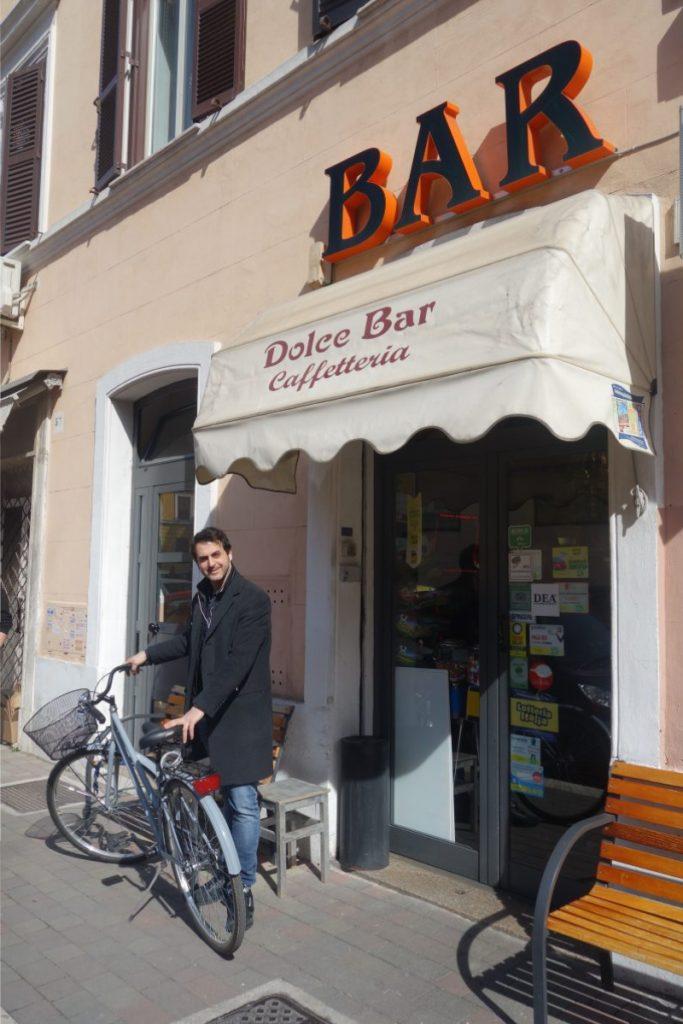 Rom per Fahrrad
