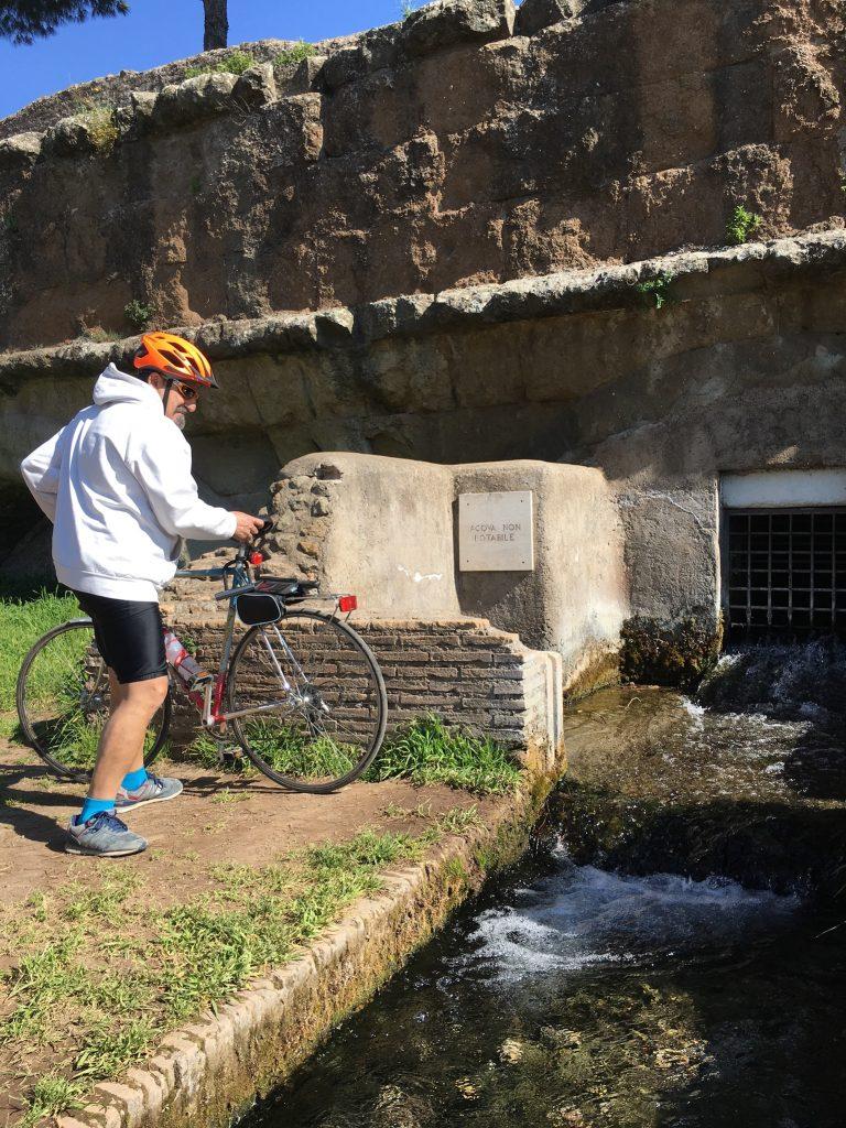 Park der Aquädukte per Fahrrad