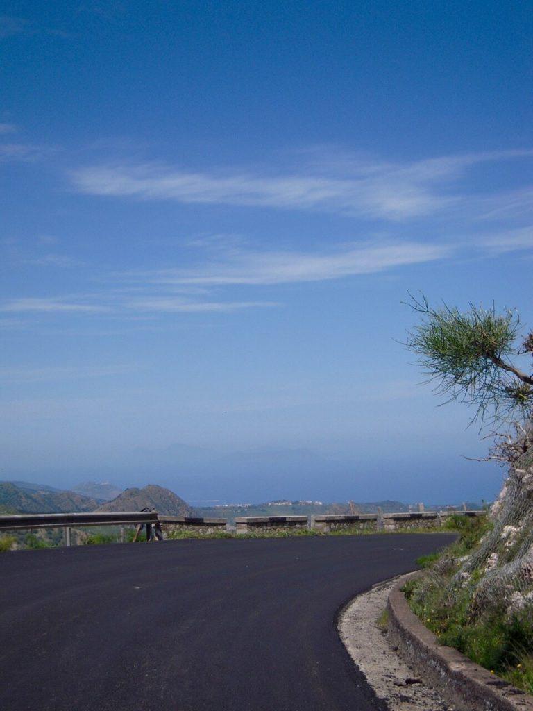Passstrasse Linguaglossa - Novara di Sicilia