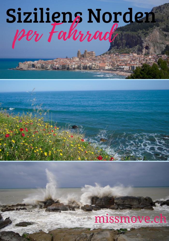 Die Nordküste von Sizilien bietet viel lässt sich mit dem Fahrrad ganz prächtig erfahren