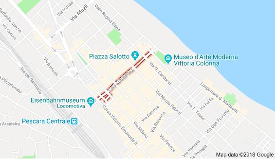 Pescara per Fahrrad