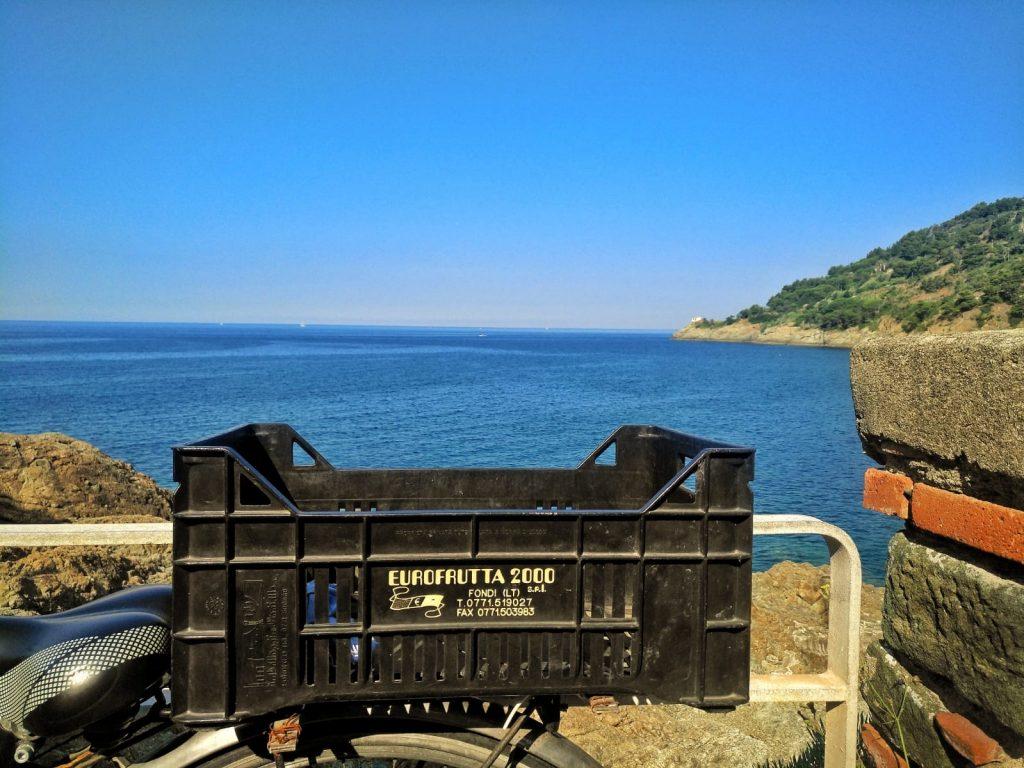 Radweg Montemari von Levanto nach Framura in Ligurien