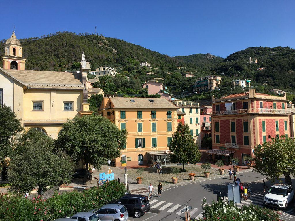 Am Radweg von Levanto nach Framura in Ligurien