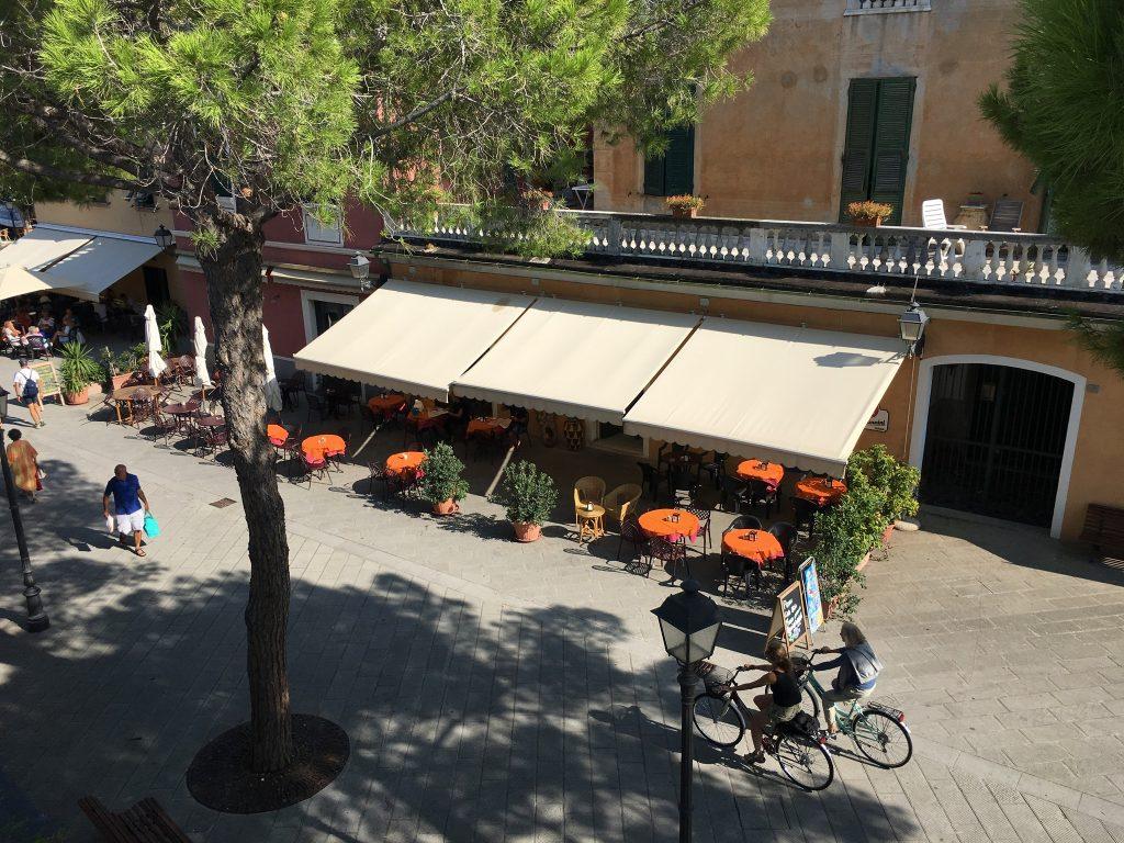 Am Radweg von Levanto nach Framura, Ligurien