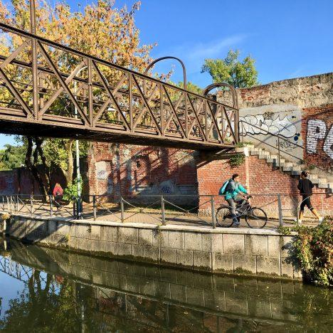 Mit dem Fahrrad in Mailand