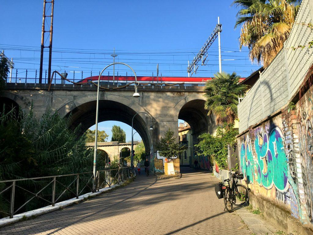 Mailand per Fahrrad