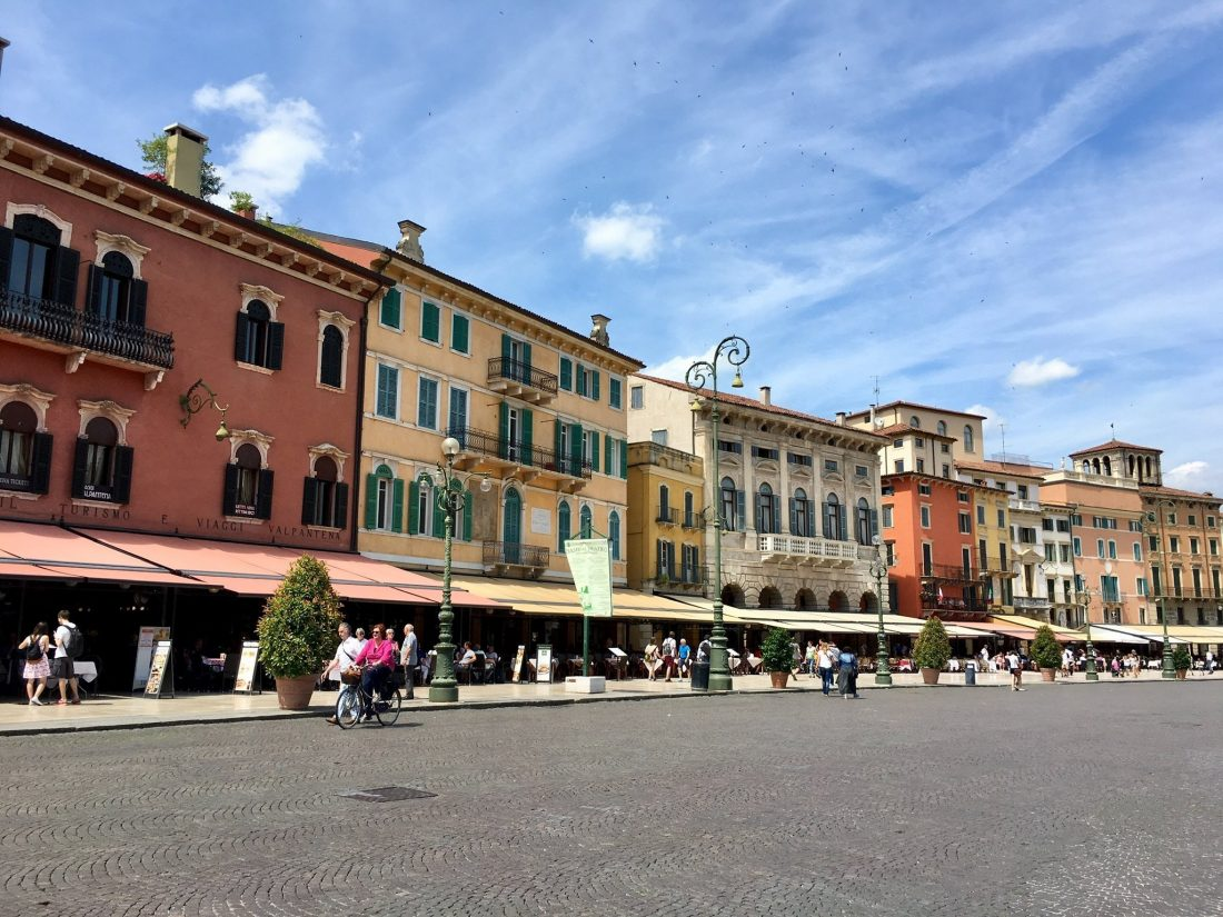 Etsch-Radweg Verona