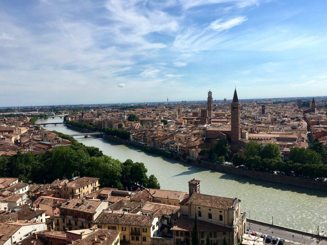 Verona am Etsch-Radweg