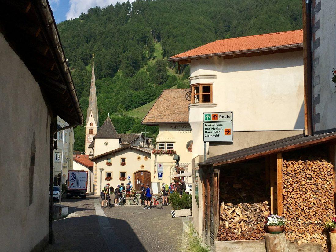 Etsch-Radweg Burgeis