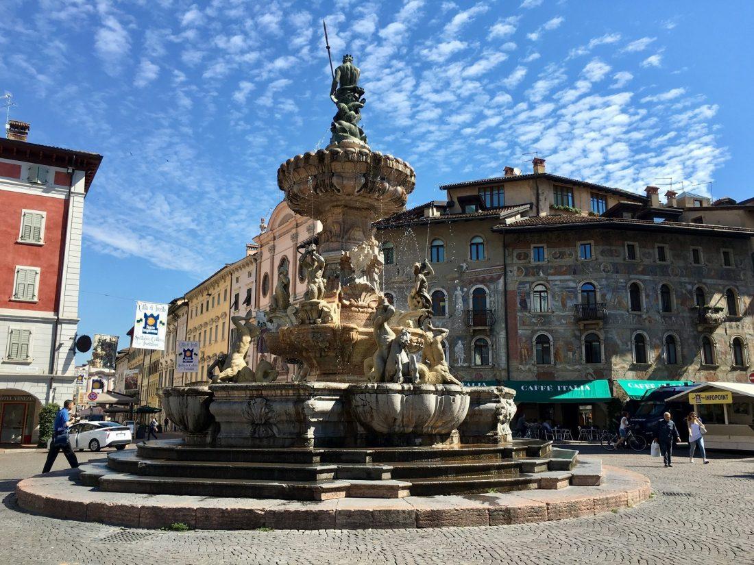 Trento am Etsch-Radweg