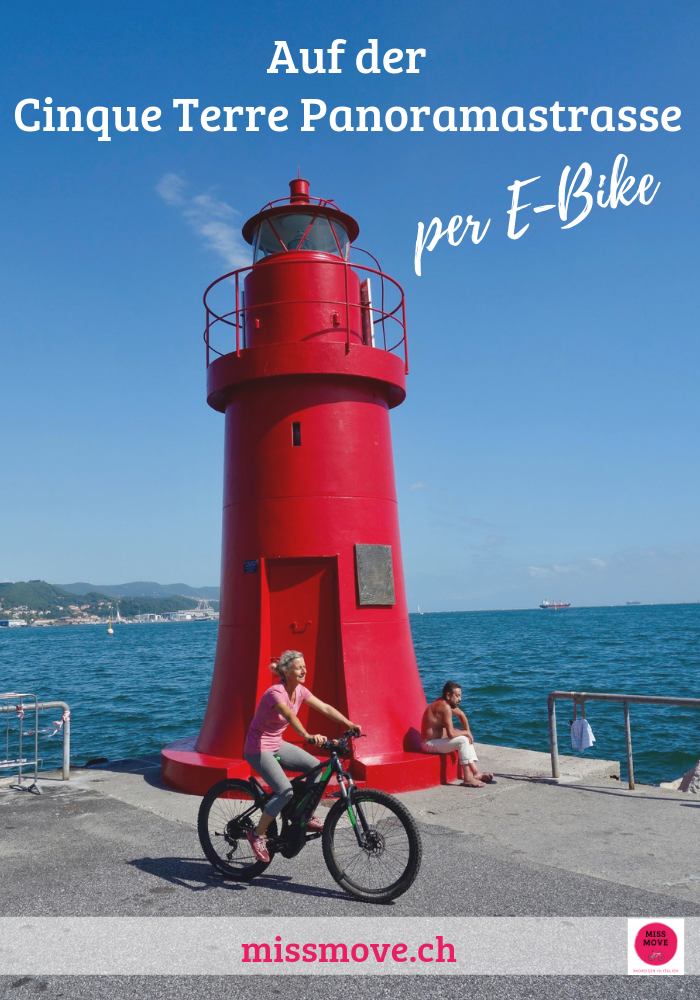 Miss Move per E-Bike von Levanto nach La Spezia