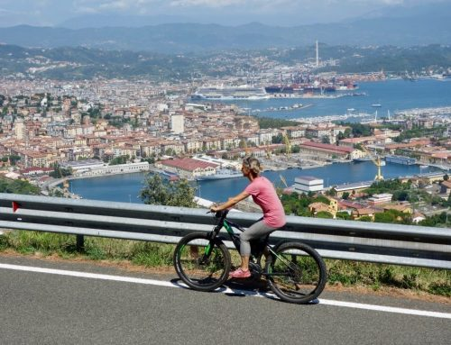 Erste E-Bike Erfahrung: auf der Cinque Terre Panoramastrasse