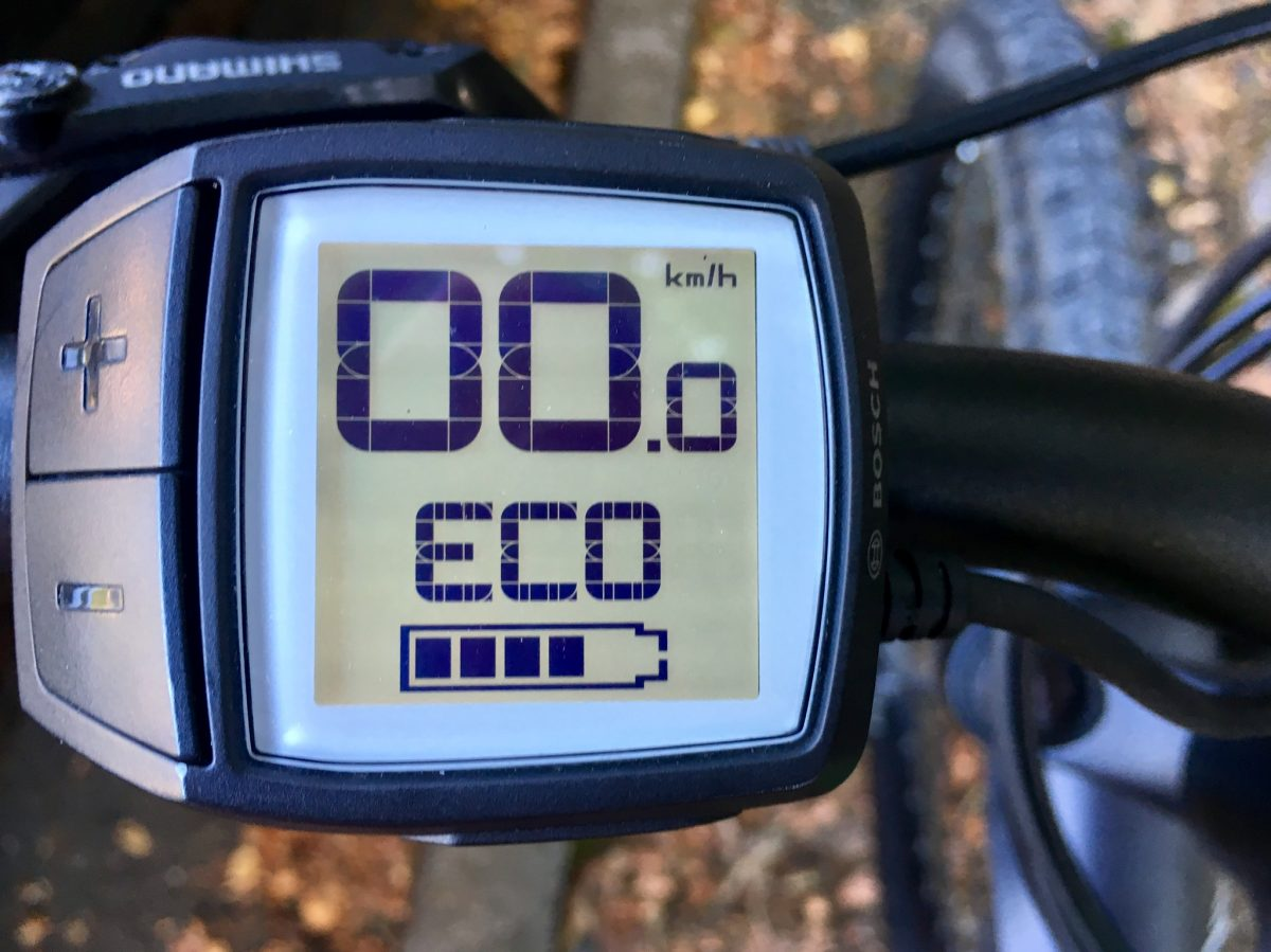 Eco-Modus des E-Bikes