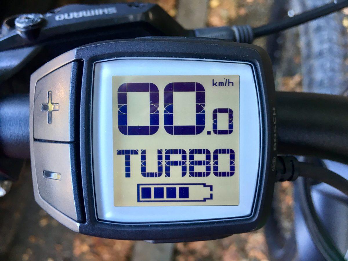 Turbo-Modus des E-Bikes