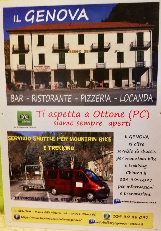 Übernachten in Ottone im Val Trebbia
