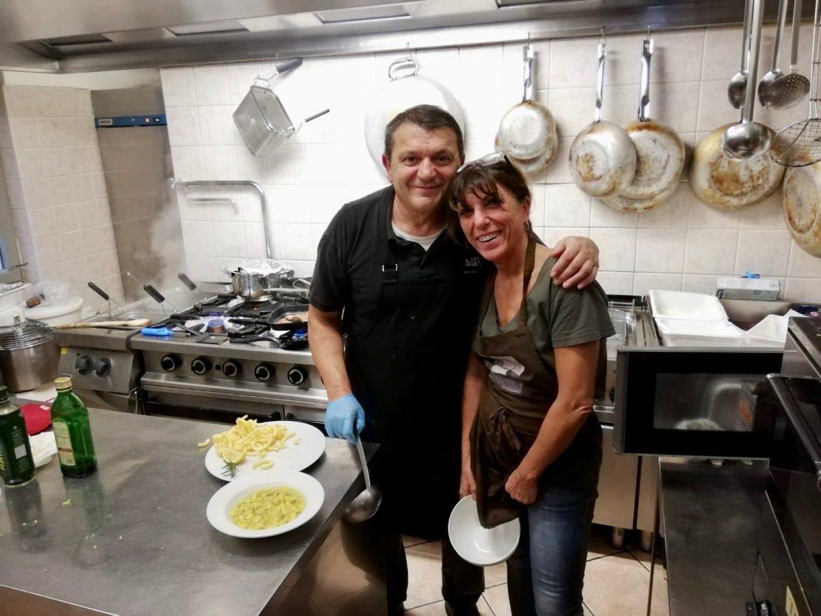 Besitzer des Restaurant Minerva in Travo im Val Trebbia
