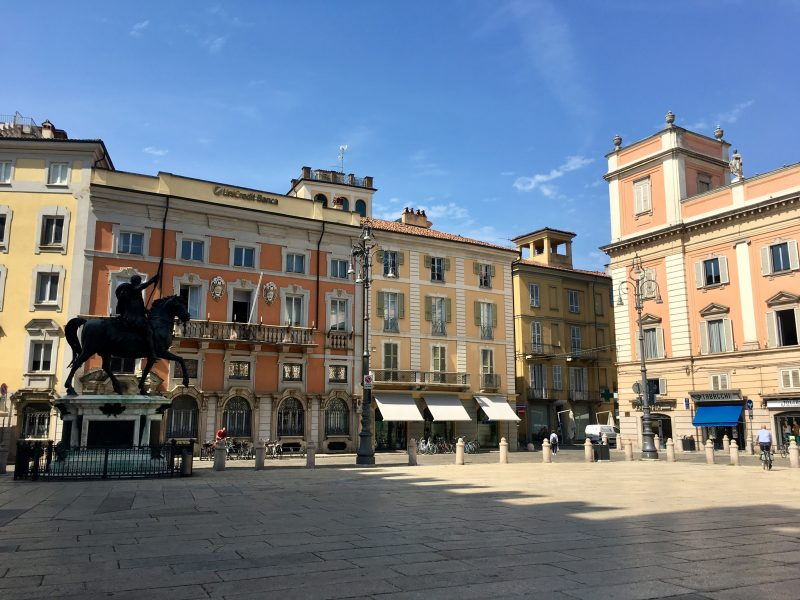 Herrenhäuser in Piacenza