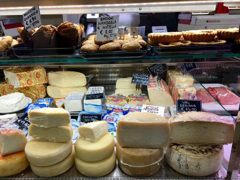 Lebensmittelladen in Bobbio