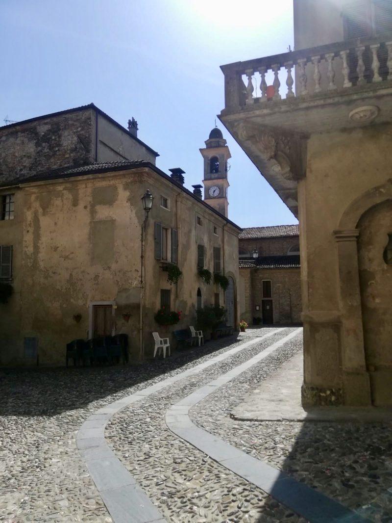 Per Fahrrad von Piacenza nach Genua - hier in Travo