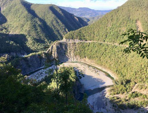 Durchs Val Trebbia von Piacenza nach Genua