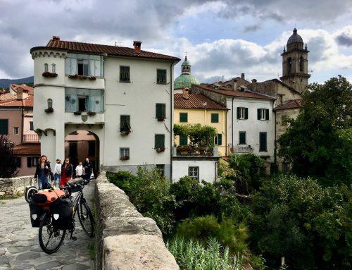 Passo della Cisa per Fahrrad: von Ligurien in die Emilia-Romagna