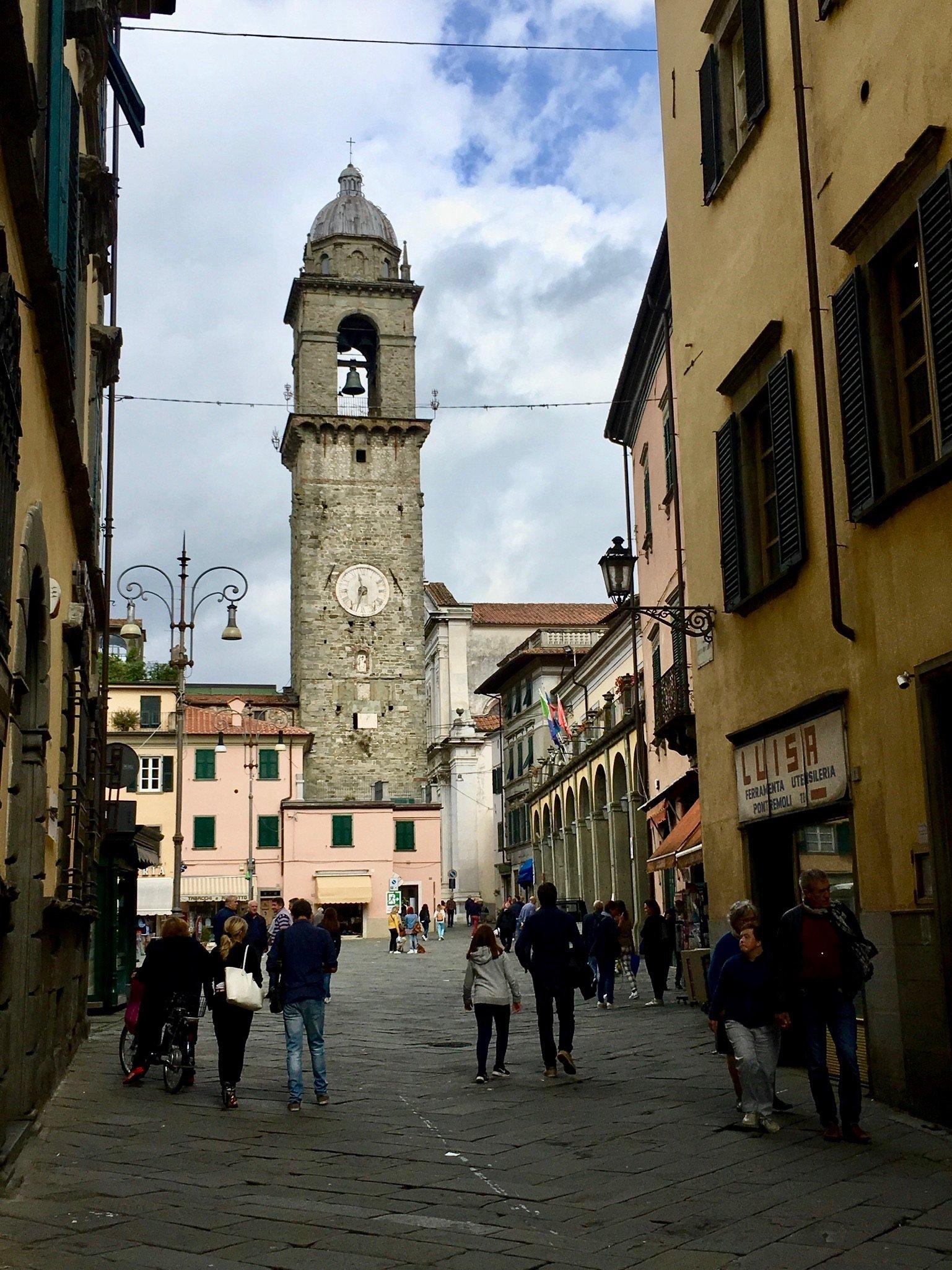 Unterwegs zum Passo della Cisa - Pontremoli
