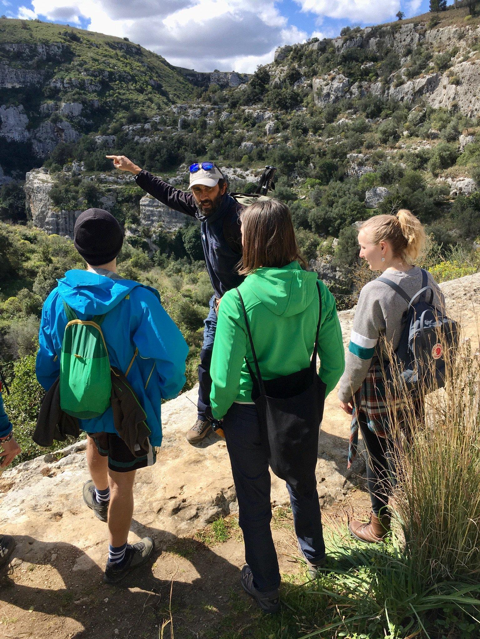 Wanderung im Naturreservat Pantalica