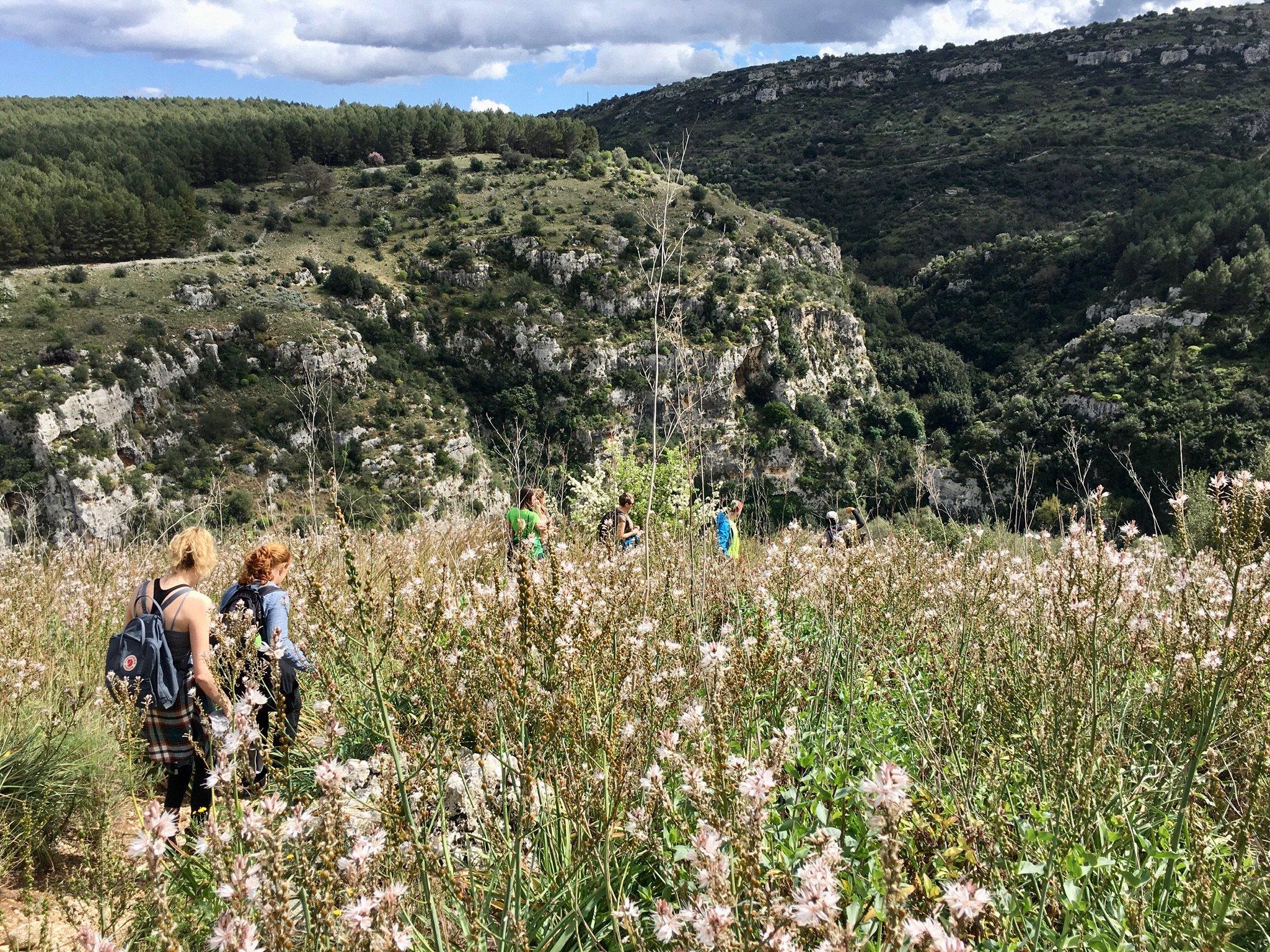 Wandern im Pantalica in Sizilien