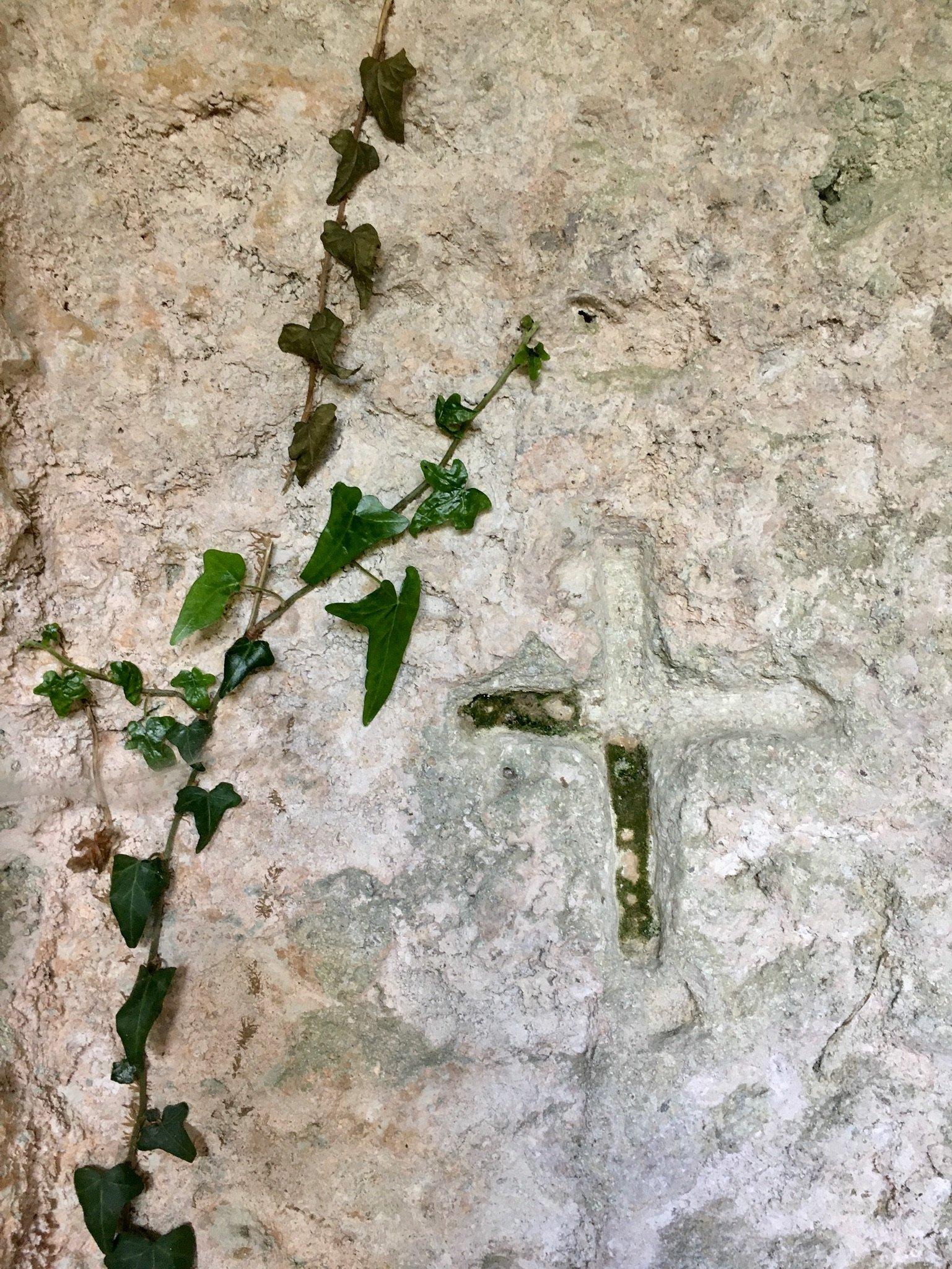 In der Nekropole von Pantalica Sizilien