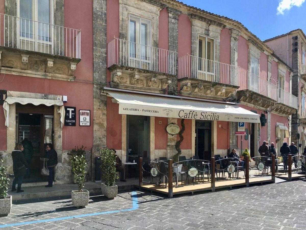 Konditorei und Bar in Palazzolo Acreide