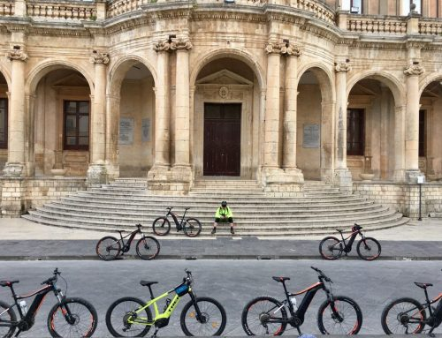 E-Bike-Tour in Sizilien: Palazzolo Acreide bis Vendicari