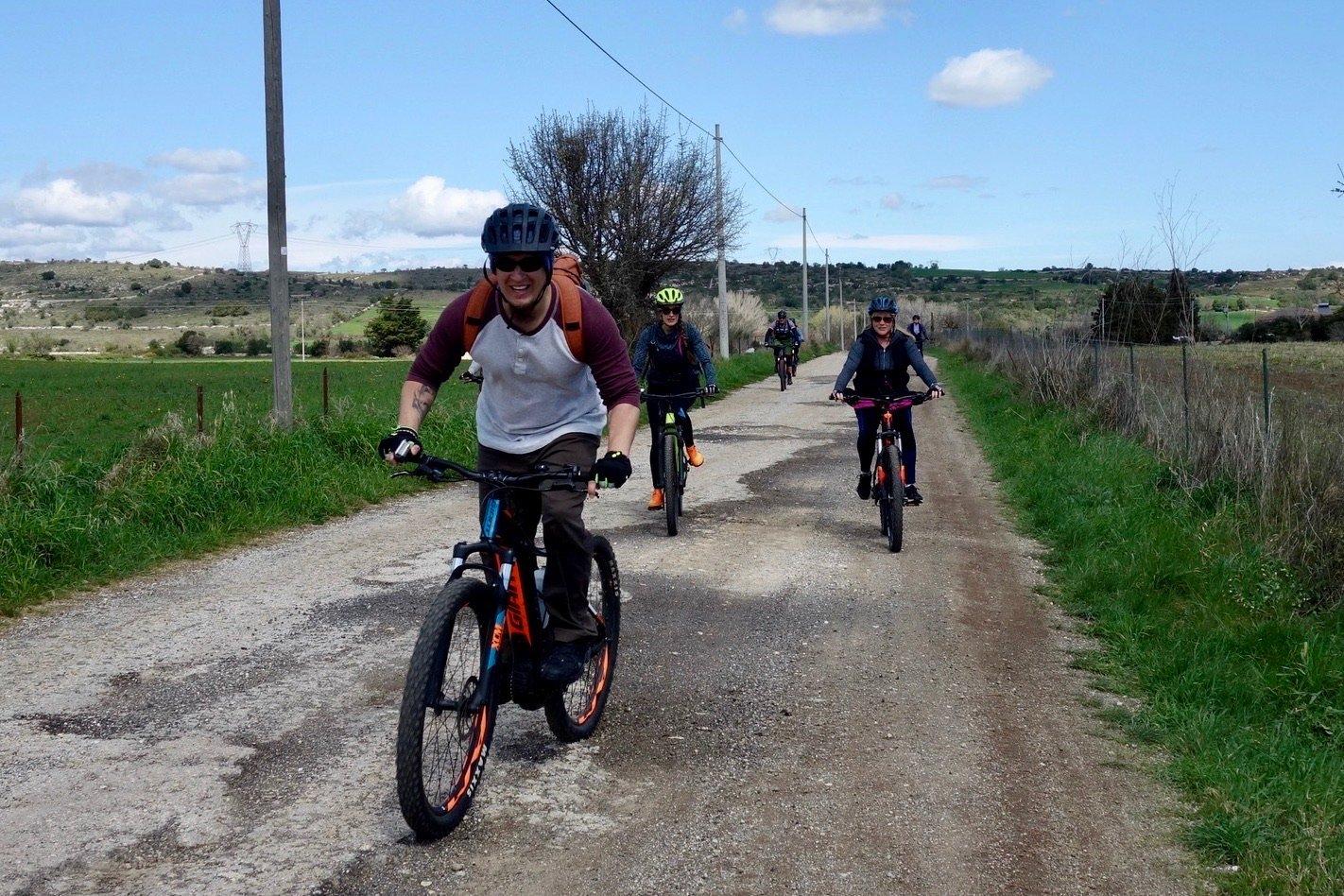 E-Bike-Tour in Sizilien