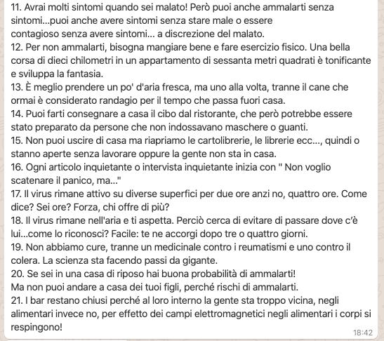 Italien zu Zeiten des Coronavirus