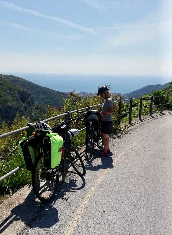 Vom Piemont nach Ligurien per Fahrrad