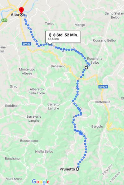 Durchs Piemont mit dem Velo